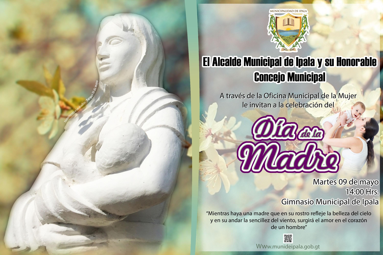 Invitación Para Celebrar El Día De La Madre